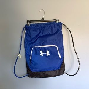 Blue under armor bag
